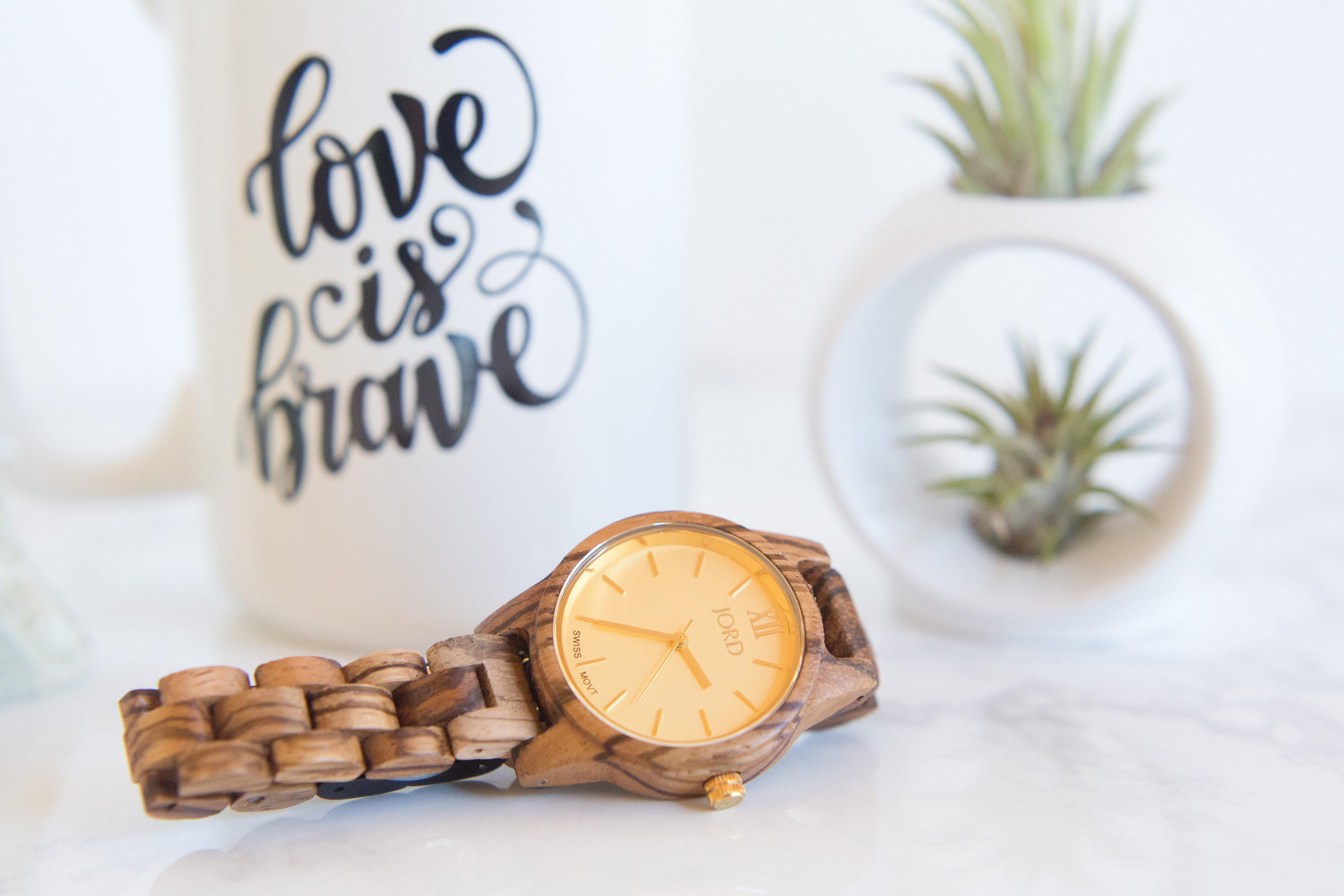 nourish and namaste giveaway wood watch